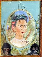 fake painting from Frida Kahlo
